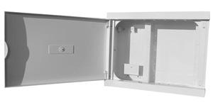 Coffret multimédia switch+ vide à garnir - Platine Réseaux